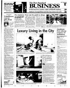 Syracuse Post Standard, March 27, 2005, Page 51