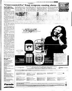Syracuse Post Standard, March 27, 2005, Page 275