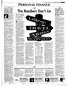 Syracuse Post Standard, March 27, 2005, Page 55