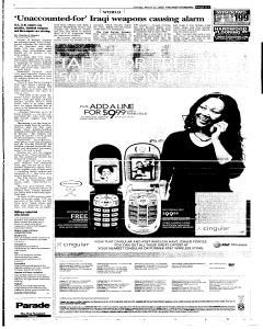 Syracuse Post Standard, March 27, 2005, Page 223