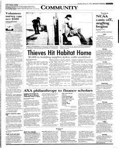 Syracuse Post Standard, March 27, 2005, Page 263