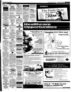 Syracuse Post Standard, March 27, 2005, Page 69