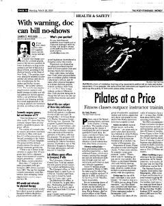 Syracuse Post Standard, March 28, 2005, Page 57