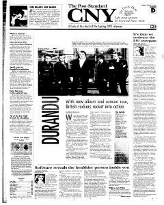 Syracuse Post Standard, March 28, 2005, Page 27