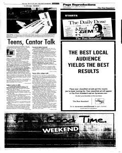 Syracuse Post Standard, March 28, 2005, Page 86