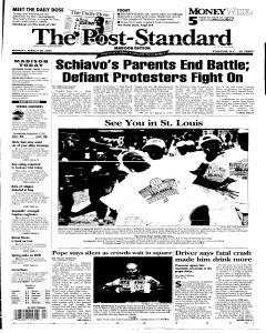 Syracuse Post Standard, March 28, 2005, Page 74