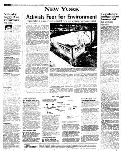 Syracuse Post Standard, March 30, 2005, Page 6