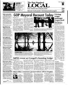 Syracuse Post Standard, April 07, 2005, Page 23