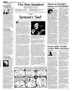 Syracuse Post Standard, April 11, 2005, Page 8