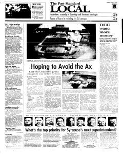 Syracuse Post Standard, April 11, 2005, Page 11