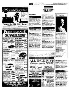 Syracuse Post Standard, April 14, 2005, Page 62
