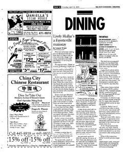 Syracuse Post Standard, April 14, 2005, Page 76
