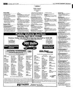 Syracuse Post Standard, April 14, 2005, Page 98
