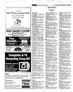 Syracuse Post Standard, April 14, 2005, Page 112