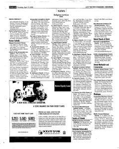 Syracuse Post Standard, April 14, 2005, Page 118