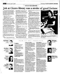 Syracuse Post Standard, April 14, 2005, Page 128