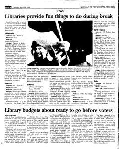Syracuse Post Standard, April 14, 2005, Page 130