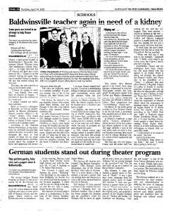 Syracuse Post Standard, April 14, 2005, Page 146