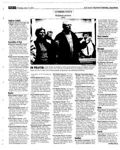 Syracuse Post Standard, April 14, 2005, Page 150