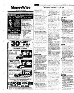 Syracuse Post Standard, April 14, 2005, Page 158