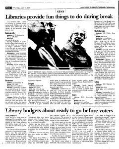 Syracuse Post Standard, April 14, 2005, Page 166