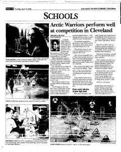 Syracuse Post Standard, April 14, 2005, Page 178