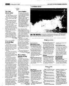 Syracuse Post Standard, April 14, 2005, Page 190