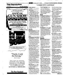 Syracuse Post Standard, April 14, 2005, Page 192