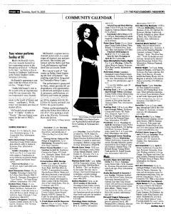 Syracuse Post Standard, April 14, 2005, Page 216