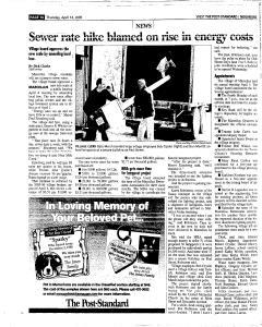 Syracuse Post Standard, April 14, 2005, Page 242