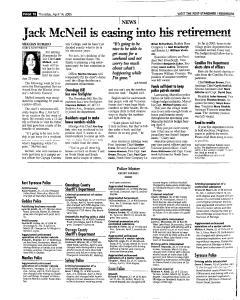 Syracuse Post Standard, April 14, 2005, Page 244