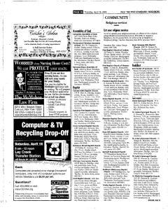 Syracuse Post Standard, April 14, 2005, Page 253
