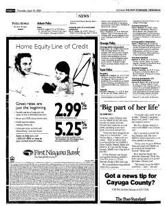 Syracuse Post Standard, April 14, 2005, Page 341