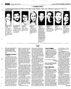 Syracuse Post Standard, April 14, 2005, Page 359