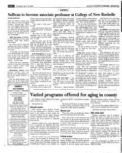 Syracuse Post Standard, April 14, 2005, Page 365