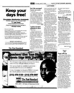 Syracuse Post Standard, April 14, 2005, Page 383