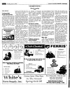 Syracuse Post Standard, April 14, 2005, Page 385