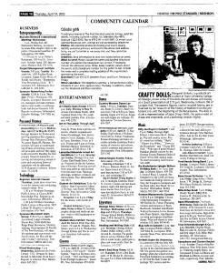 Syracuse Post Standard, April 14, 2005, Page 395