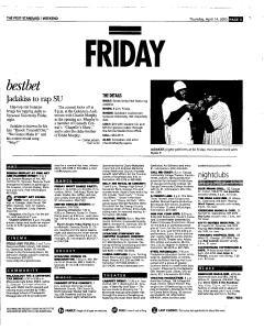 Syracuse Post Standard, April 14, 2005, Page 63