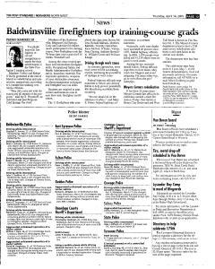 Syracuse Post Standard, April 14, 2005, Page 175