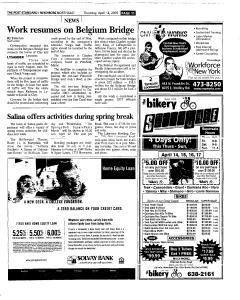 Syracuse Post Standard, April 14, 2005, Page 137