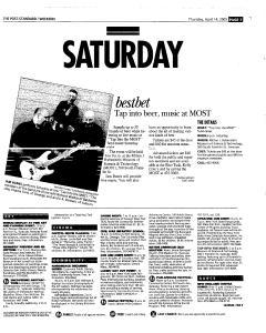 Syracuse Post Standard, April 14, 2005, Page 65
