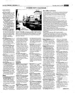 Syracuse Post Standard, April 14, 2005, Page 217
