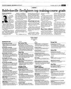 Syracuse Post Standard, April 14, 2005, Page 139