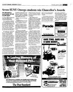 Syracuse Post Standard, April 14, 2005, Page 388