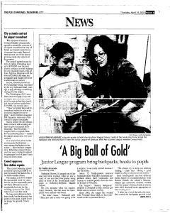 Syracuse Post Standard, April 14, 2005, Page 201