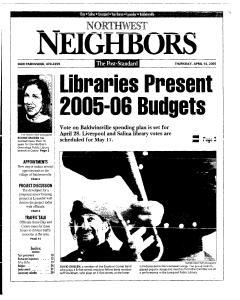 Syracuse Post Standard, April 14, 2005, Page 163