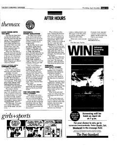 Syracuse Post Standard, April 14, 2005, Page 81