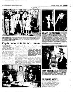 Syracuse Post Standard, April 14, 2005, Page 147