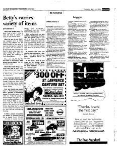 Syracuse Post Standard, April 14, 2005, Page 394